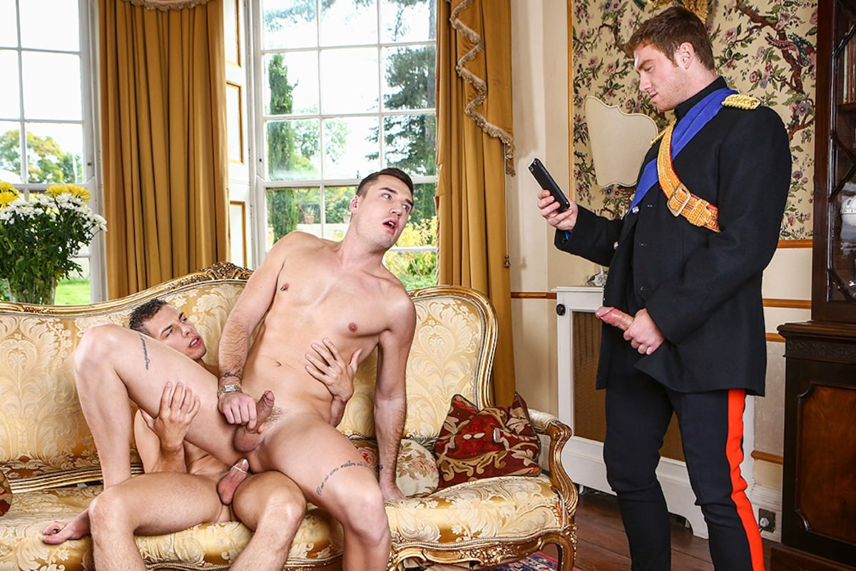Royal gay blackmail